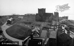 Dover, Harold's Motte And Church 1954