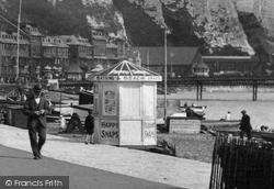 Dover, Kiosk On The Promenade 1924