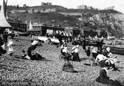 Dover, On The Beach 1890