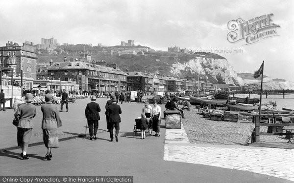Photo of Dover, Promenade 1924