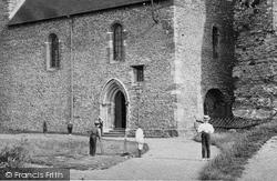 Dover, St Mary In Castro Church c.1874