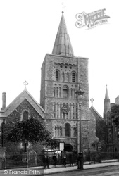 Dover, St Mary's Church 1899