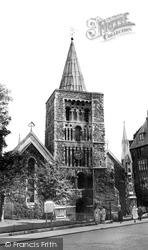 Dover, St Mary's Church c.1965