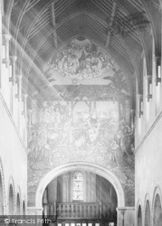 Dover, St Mary's Church Mural, Nave West 1890