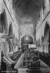 Dover, St Mary's Church Nave West 1890