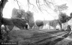 Dover, St Radigund's Abbey Interior 1892