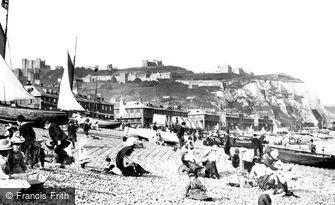Dover, the Beach 1890