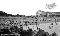 Dover, The Beach c.1955
