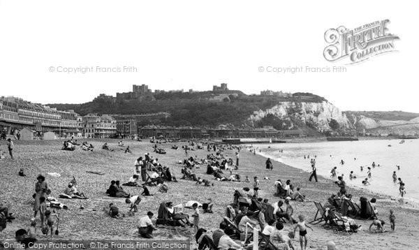 Photo of Dover, The Beach c.1960