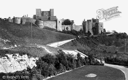 Dover, The Castle From Park 1892