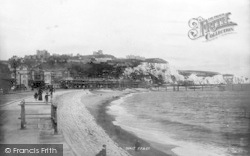 Dover, The Esplanade And Foreland 1892