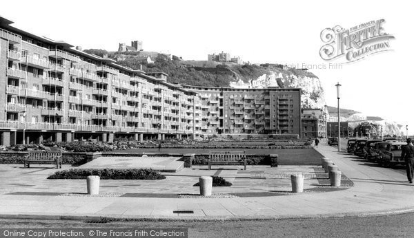 Photo of Dover, The Gateway, Gardens And White Cliffs c.1965