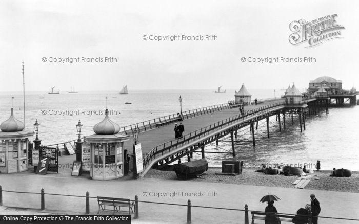 Photo of Dover, The Promenade Pier 1901