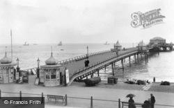 Dover, The Promenade Pier 1901