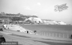 Dover, The Seafront And East Cliffs c.1955