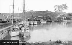 Dover, Yachts In The Western Docks  c.1960