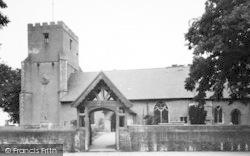 Dovercourt, All Saints Church c.1955