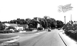 Dovercourt, All Saints Church c.1960