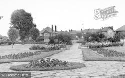 Dovercourt, Barrack Lane Gardens c.1955