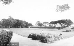 Dovercourt, Bay, The Park c.1960