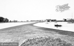 Dovercourt, Boating Lake c.1955