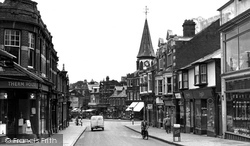 Dovercourt, High Street c.1950