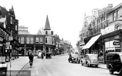 Dovercourt, High Street c.1955