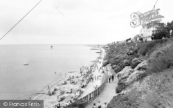 Dovercourt, New Promenade c.1955