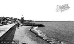 Dovercourt, The Beach c.1955