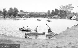 Dovercourt, The Boating Lake c.1955