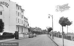 Dovercourt, The Cliff Hotel c.1955