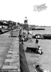 Dovercourt, The Promenade c.1955