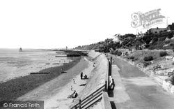 Dovercourt, The Promenade c.1965
