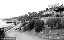 Dovercourt, The Seafront c.1950