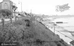 Dovercourt, The Slopes c.1950