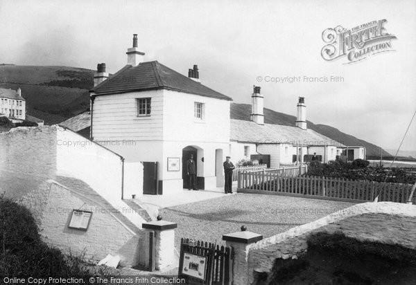 Photo of Downderry, Coastguard Bungalows 1901