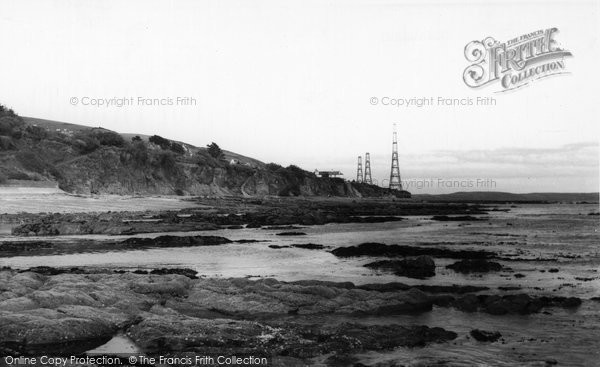Photo of Downderry, The Beach c.1960
