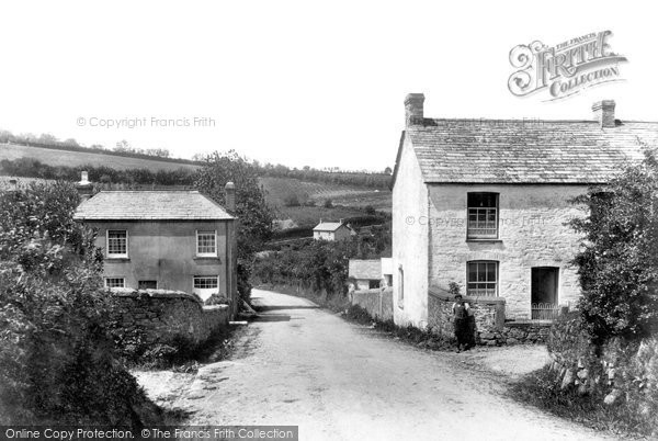 Photo of Downgate, The Village 1908