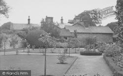 Downham, Downham Hall, The Rose Garden c.1960