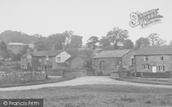 Downham, Fir Tree House And Village c.1955