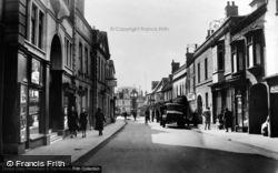 High Street c.1950, Downham Market