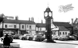 Market Place c.1955, Downham Market