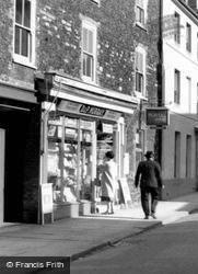 Murray's Shop, Bridge Street 1960, Downham Market