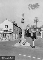 The Memorial c.1960, Downham Market