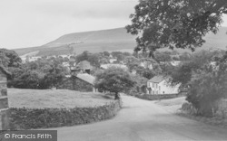 Downham, Pendle Hill And White House c.1965