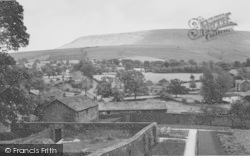 Downham, Pendle Hill From The Church c.1965