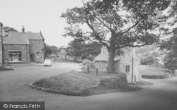 Downham, The Post Office And Stocks c.1965