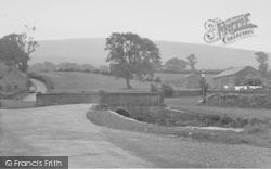 Downham, West Lane c.1955