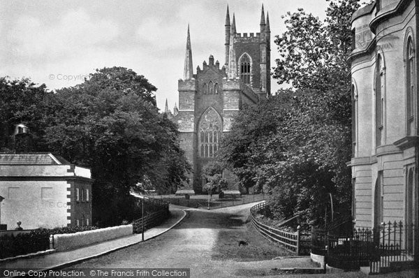 Photo of Downpatrick, Down Cathedral c.1900