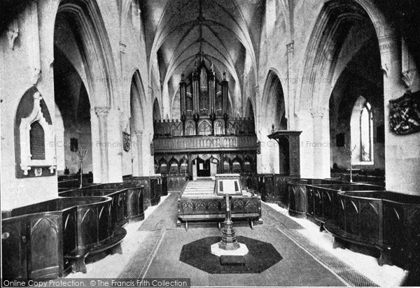 Photo of Downpatrick, Down Cathedral, Nave And Choir c.1900